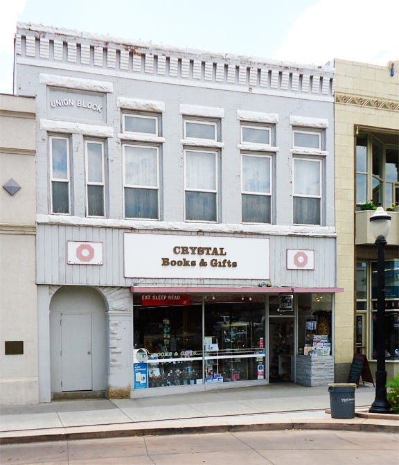 crystal books store