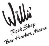 willis rock shop logo