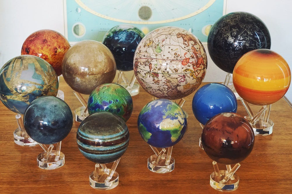 mova globe space collection
