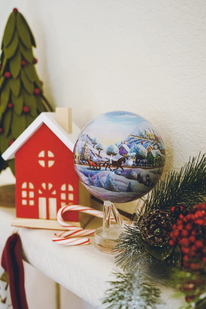holiday decor mova globe