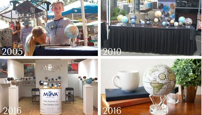 MOVA Globes 2005-2016