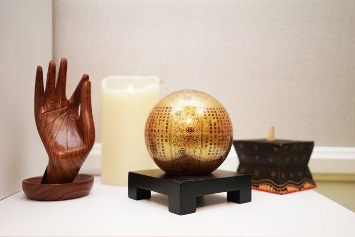 golden prajna heart sutra mova globe spring