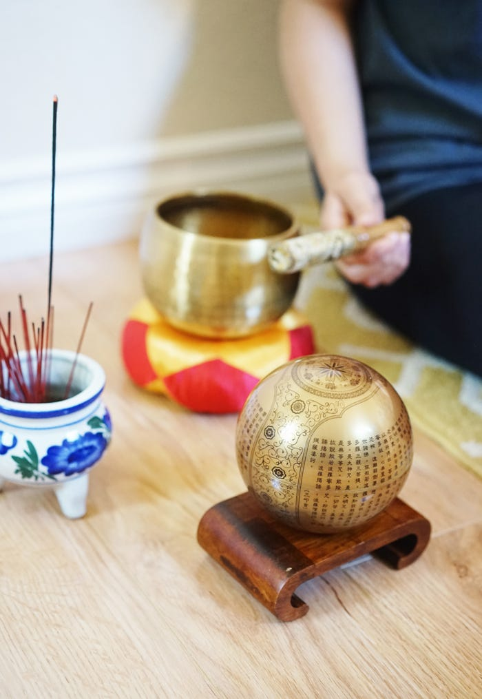 golden prajna paramita heart sutra mova globe