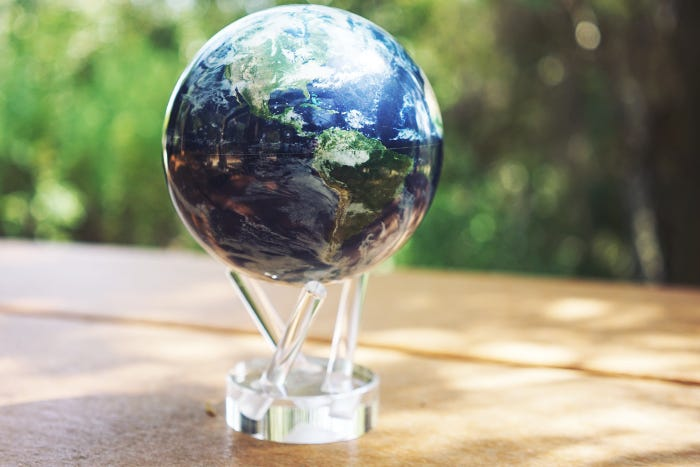 earth mova globe graduation gift