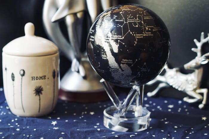 constellations globe graduation gift