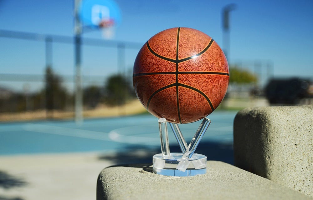 Basketball MOVA Globe small