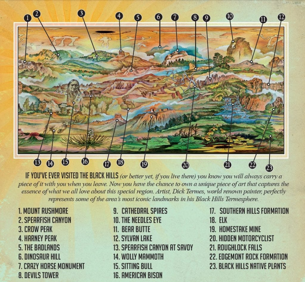 Black Hills Landmarks