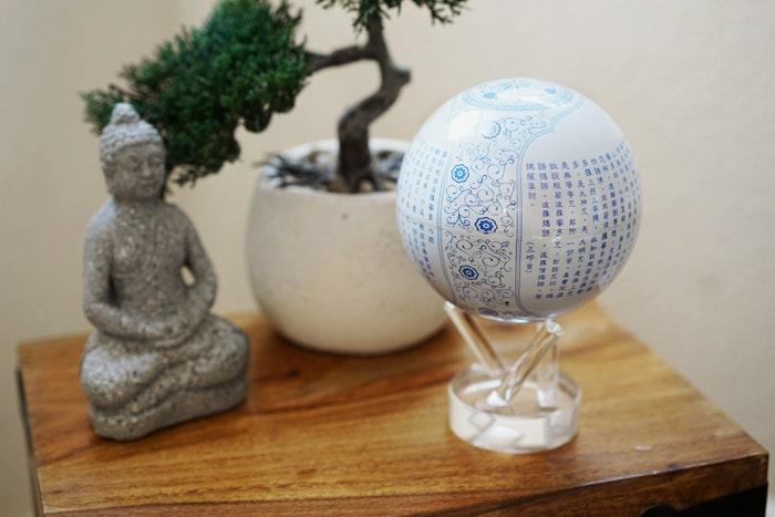 blue prajna paramita mova globe