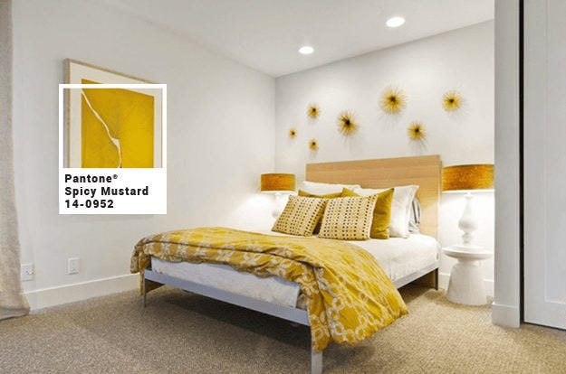 white-bedroom-with-mustard-yellow-accents-pantone-spicy-mustard-min-with-square