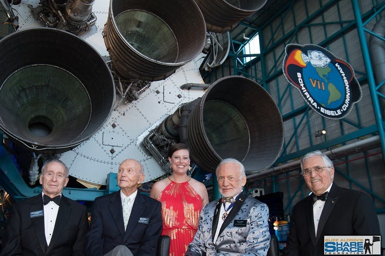 The space gala with buzz aldrin
