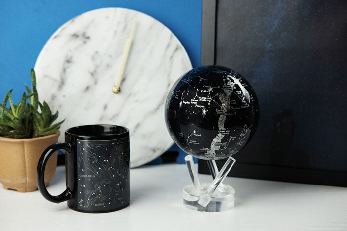 Constellations MOVA Globe with decor