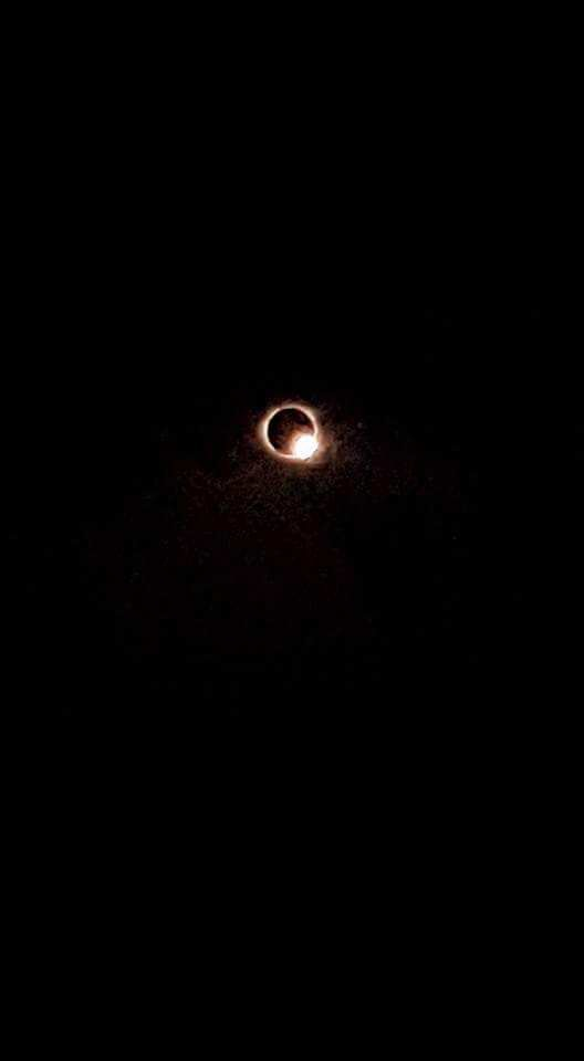 The eclipse with total coverage