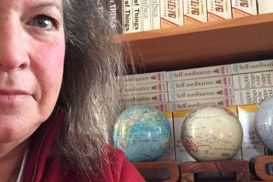 Collecting Globes: Q&A with Barbara Ann Kipfer