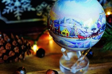 Decorating with the MOVA Globe: Holiday Edition