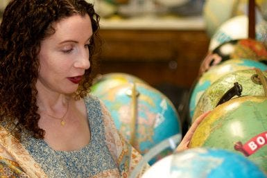 Globes and Art: Q&A with Wendy Gold