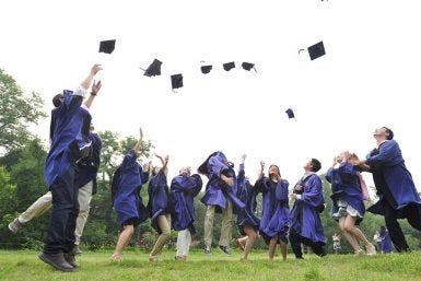 Graduation Advice: Keep Moving Forward