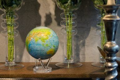 How to Decorate with the MOVA Globe