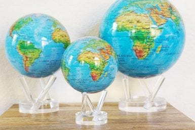 MOVA By The Numbers (Part I): 3 Sizes of MOVA Globes