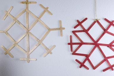MOVA DIY: Snowflake Wall Art