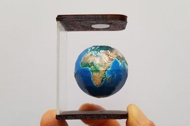 Magic of Magnets: MOVA Globe Magnets