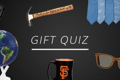 Quiz: What to Get for the Man in Your Life