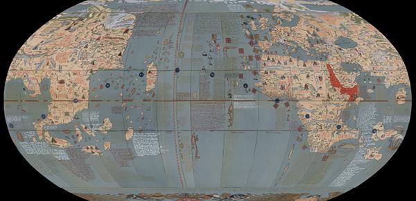 Earth apple map