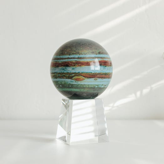 "Jupiter MOVA Globe 4.5"" with Crystal Base Tall"