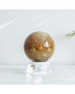 "Mercury MOVA Globe 4.5"" with Crystal Base"