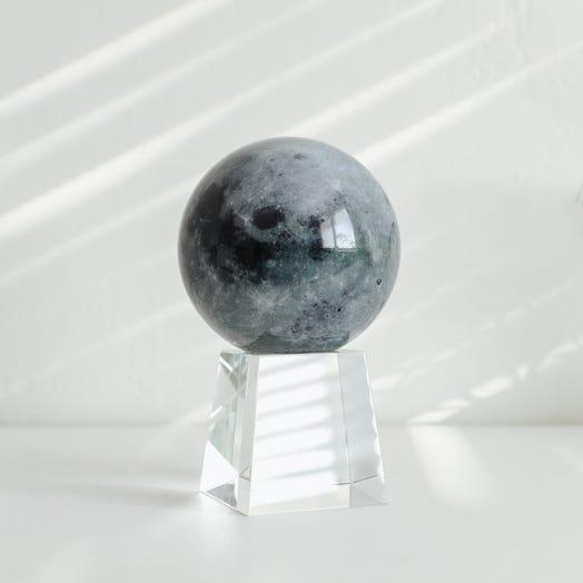 "Moon MOVA Globe 4.5"" with Crystal Base Tall"