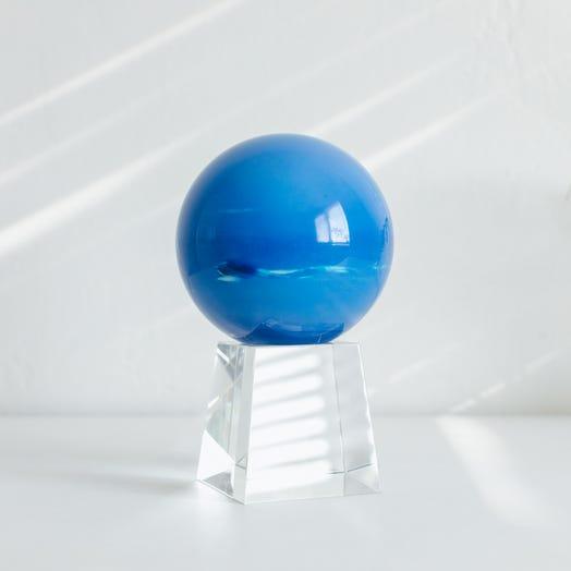 "Neptune MOVA Globe 4.5"" with Crystal Base Tall"