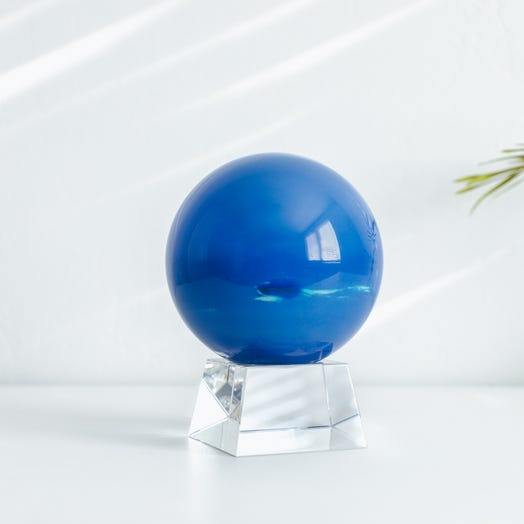 "Neptune MOVA Globe 4.5"" with Crystal Base"