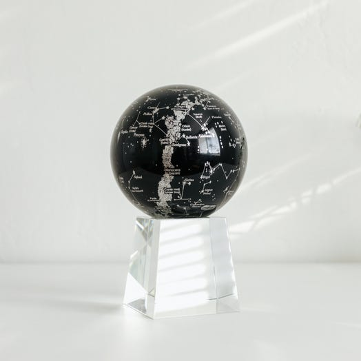 "Constellations MOVA Globe 4.5"" with Crystal Base Tall"
