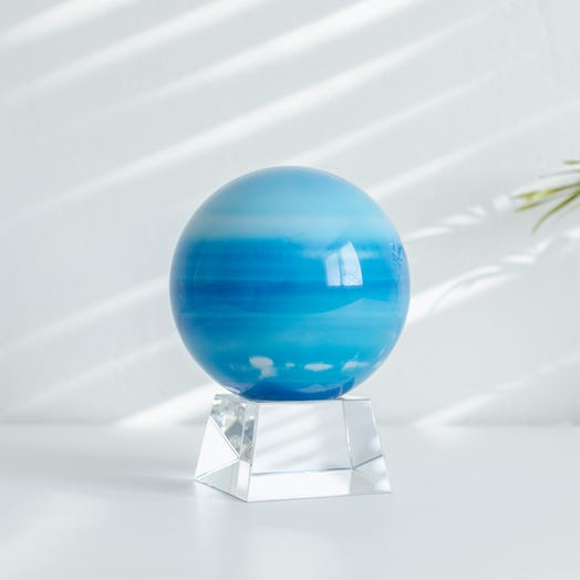 "Uranus MOVA Globe 4.5"" with Crystal Base"