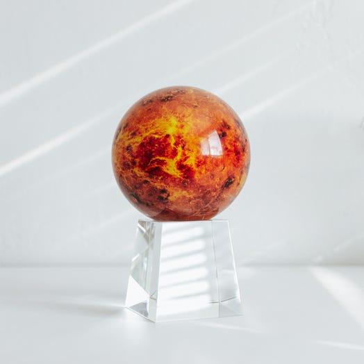 "Venus MOVA Globe 4.5"" with Crystal Base Tall"