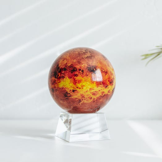 "Venus MOVA Globe 4.5"" with Crystal Base"