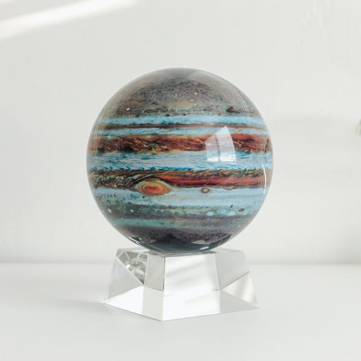 "Jupiter MOVA Globe 6"" with Crystal Base"