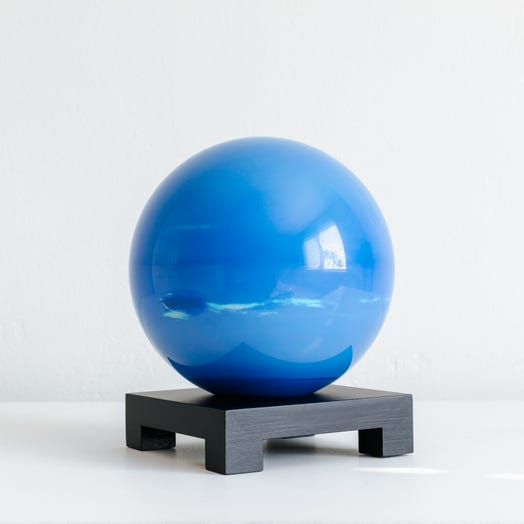 "Neptune MOVA Globe 6"" with Square Base Black"