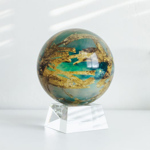 "Titan MOVA Globe 6"" with Crystal Base"