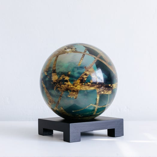 "Titan MOVA Globe 6"" with Square Base Black"