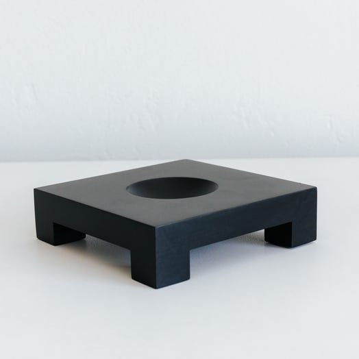 "Square Base Black for 6"" MOVA Globe"