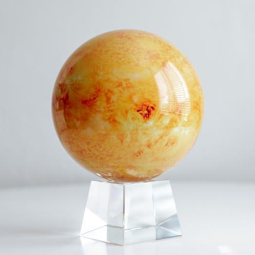 """Sun MOVA Globe 8.5"""" with Crystal Base"""