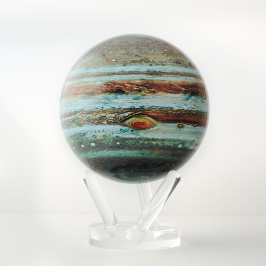 "Jupiter MOVA Globe 6"" with Acrylic Base"