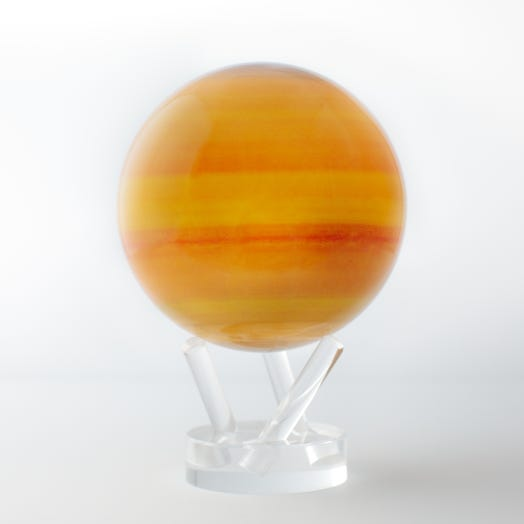 "Saturn MOVA Globe 4.5"" with Acrylic Base"