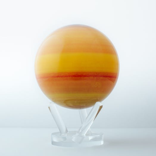 "Saturn MOVA Globe 6"" with Acrylic Base"