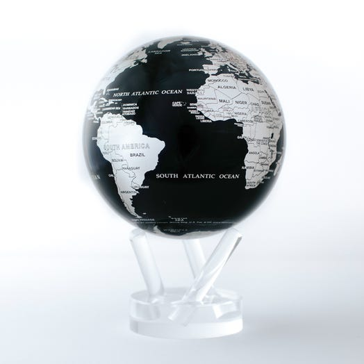 Black and Silver MOVA Globe