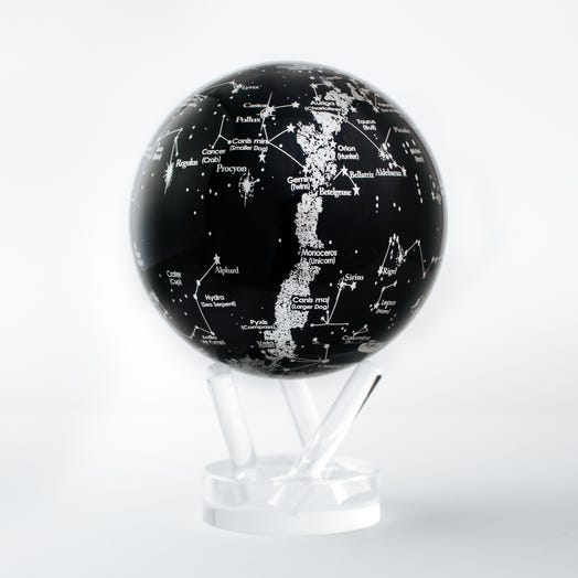 "Constellations MOVA Globe 4.5"" with Acrylic Base"