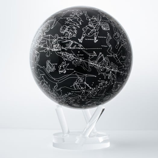 "Constellations MOVA Globe 8.5"" with Acrylic Base"