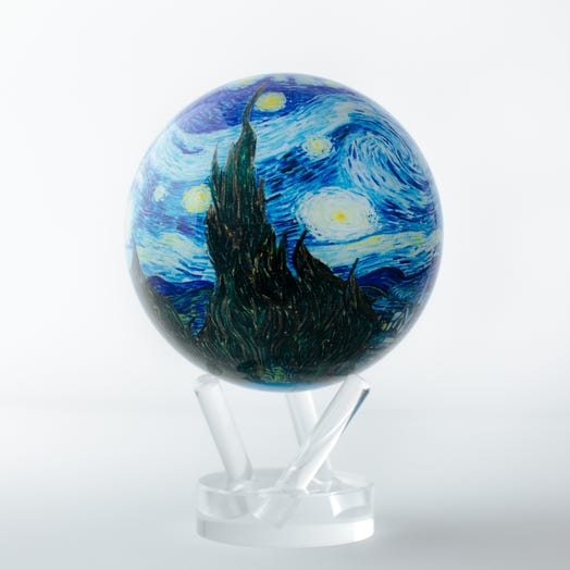 "Starry Night MOVA Globe 4.5"" with Acrylic Base"