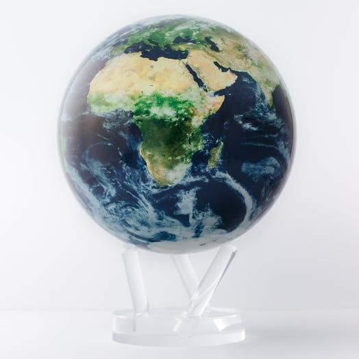 "Earth with Clouds MOVA Globe 8.5"" with Acrylic Base"