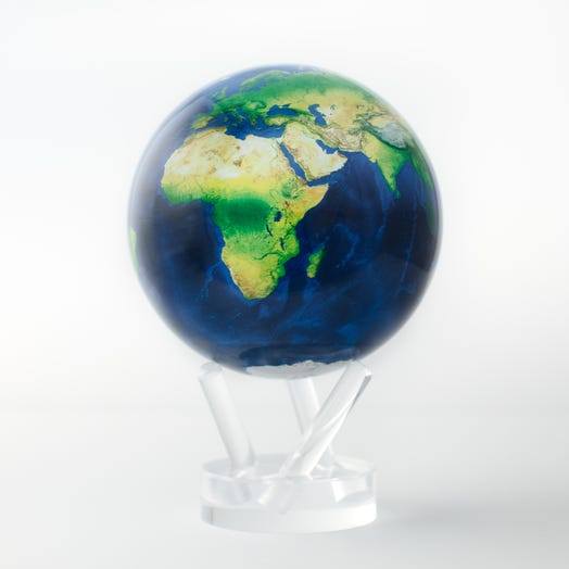 "Earth MOVA Globe 4.5"" with Acrylic Base"